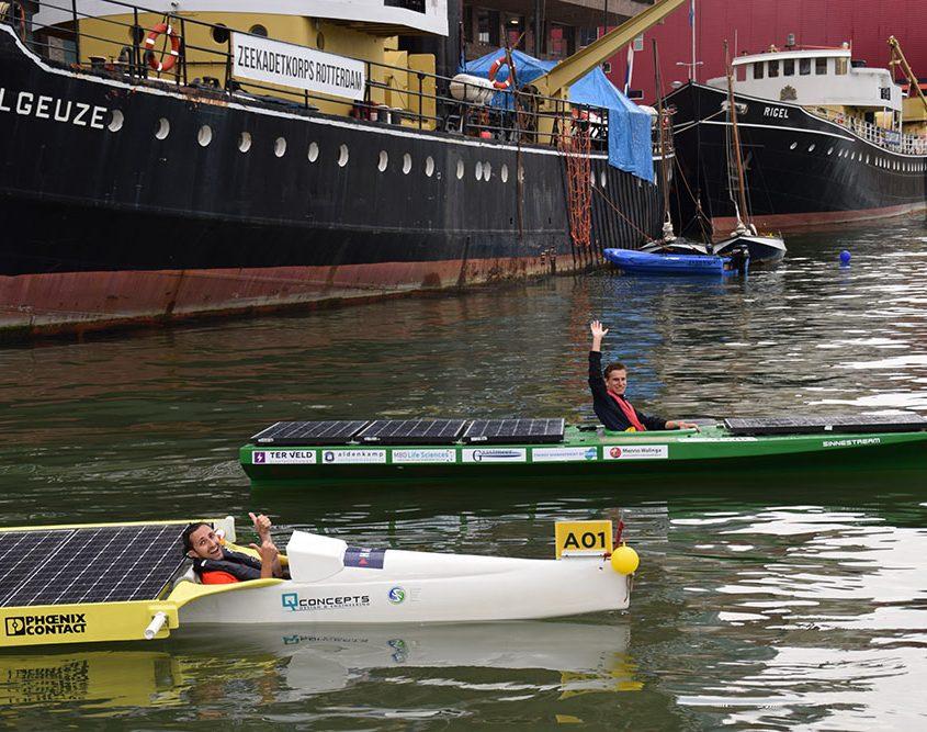 HAN Solarboat Rotterdam 2017