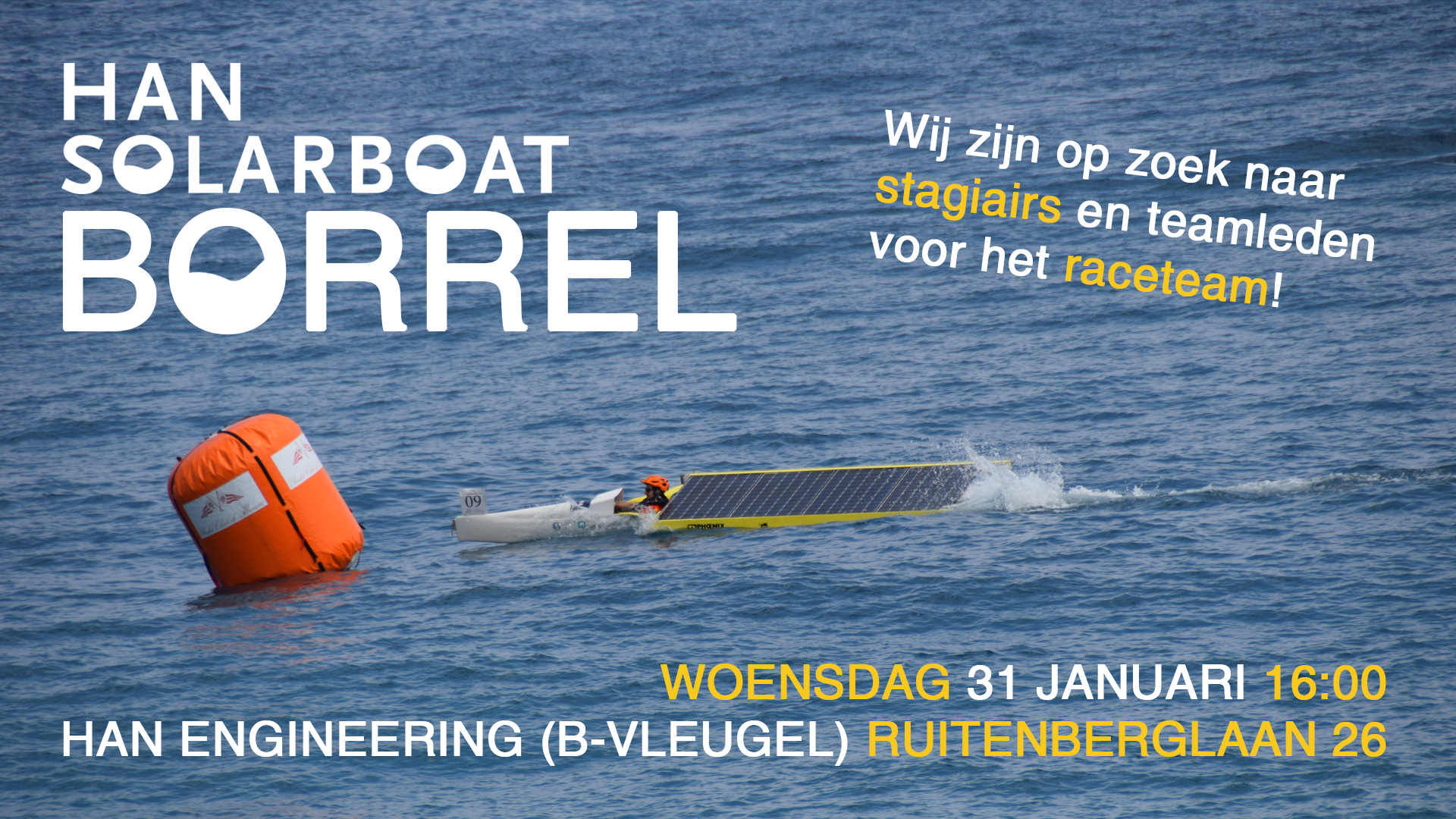 HAN Solarboat Borrel