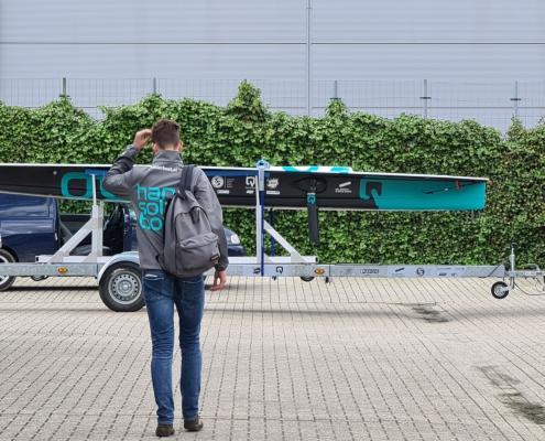 Vertrek HAN Solarboat